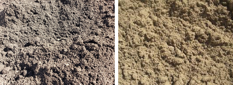 Soil and Sand in Landscaping