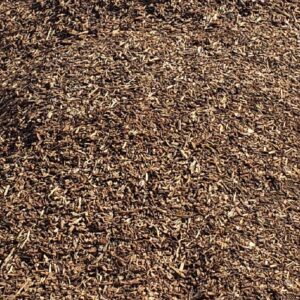 Dark Brown Mulch for Landscaping