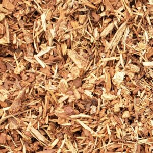 Shredded Bark Mulch for Landscaping